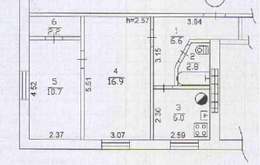Продается Квартира, пр.Ильича , район Ворошиловский, город Донецк, Украина