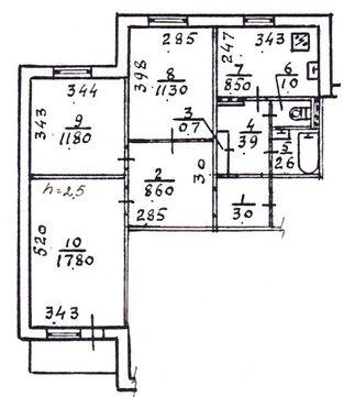 Продается 3-комн. Квартира, 71 м² - цена 26000 у.е. (Объявление:№ 82037) Фото 18