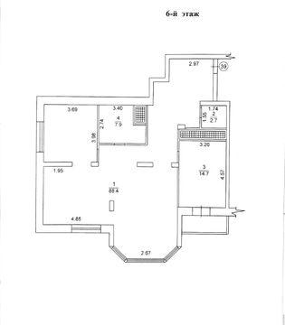 Продается 3-комн. Квартира, 115 м² - цена 20000 у.е. (Объявление:№ 82096) Фото 2