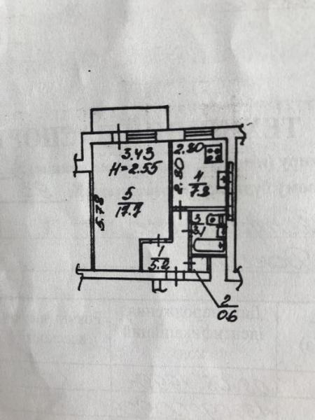 Продается 1-комн. Квартира, 35 м² - цена 15000 у.е. (Объявление:№ 82830) Фото 1
